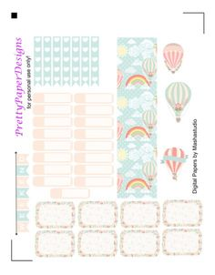 A thank you to Cristina from MashaStudio for allowing me to use her digital papers in my creations and to share them as a free printable with all of you! Her shop has adorable digital papers make s…