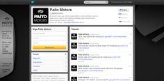Paíto Motors: Personalização, gerenciamento e estruturação de página no Twitter.