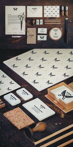 55 Dapper Branding Design Projects for Barber Shops: