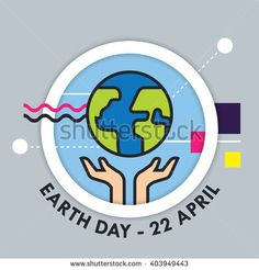 Earth day illustration EPS 10. - stock vector