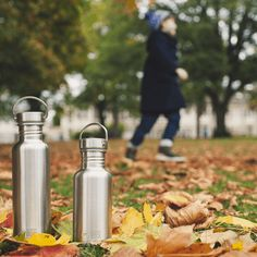 Everyone should have a Water Bottle and these Stainless Steel Water Bottles are perfect. Stainless steel will last for years and is recyclable. Homemade Cleaning Products, Shampoo Bar, Stainless Steel Water Bottle, Zero Waste, Shopping Lists, Water Bottles, Green, Elephant, School