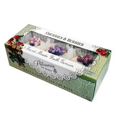 Cherries and  Berries Bath Set by PATISSERIE DE BAIN