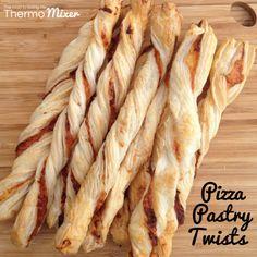Pizza Pastry Twists