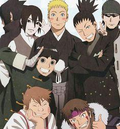 Naruto kiba Chouji Lee Sasuke Sai Shikamaru e Shino Naruto Shippuden Sasuke, Naruto Kakashi, Hinata Hyuga, Anime Naruto, Naruto Boys, Naruto Teams, Wallpaper Naruto Shippuden, Naruto Cute, Shikamaru