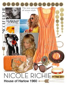 Celebrity Style: Nicole Richie by goldieazcmd on Polyvore featuring polyvore, fashion, style, Calypso St. Barth, House of Harlow 1960, clothing, fashion icon, house of harlow 1960, nicole richie and bohemian style