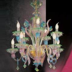 Murano chandeliers Sophia