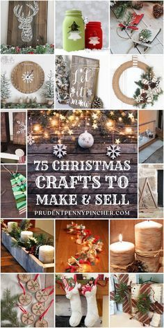 10 Christmas crafts to sell and make holiday cash TODAY Want to make extra holiday cash? Here is a list of 10 Christmas crafts to sell and make money this holiday. Grab the list & start creating Christmas crafts to sell and make holiday cash TODAY Christmas Crafts To Make And Sell, Easy Diy Christmas Gifts, Easy Crafts To Make, Dollar Store Christmas, Christmas Ornaments To Make, Christmas Projects, Holiday Crafts, Christmas Decorations, Diy Ornaments