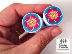 Fimo Crystal clear, tutorial and polymer jewelry: November 2014 Cane Fimo, Polymer Clay Canes, Polymer Clay Flowers, Fimo Clay, Polymer Clay Creations, Polymer Clay Jewelry, Sculpey, Clay Art Projects, Clay Crafts