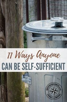 11 Ways Anyone Can Be Self-Sufficient — Self-sufficiency is an attainable goal, and there are some easy steps you can take to get there. Growing your own herbs is one example – not only do they make runs to the store for that one missing ingredient unnecessary, but they just taste better. #selfsufficent