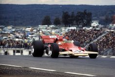 Emerson Fittipaldi wins his first Grand Prix at Watkins Glen and revivies Lotus spirits after Rindt's death at Monza
