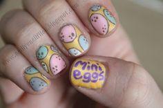 Cadbury's Mini Eggs Nail Art! Genius! #minieggs #chocolate #nailart