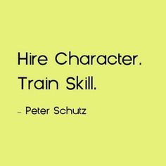 Character and Skill