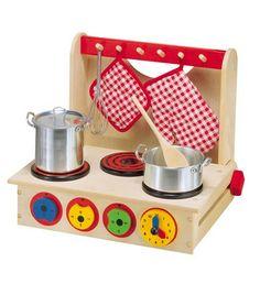 Kids' Wooden Cooktop, $29.99
