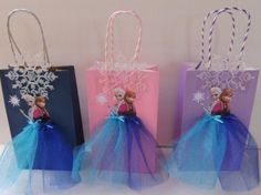 Frozen party packs. Both girls
