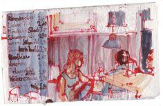 Rolf Schroeter  #sketchbook