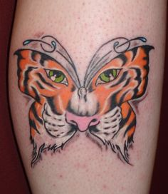 27 Best Butterfly Tiger Tattoo Drawings Images Butterfly Tattoo