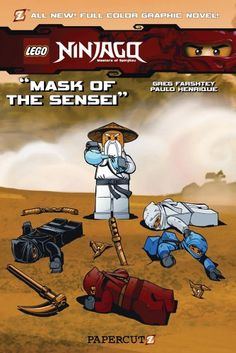 Ninjago Graphic Novels #2: Mask of the Sensei (Lego Ninjago Masters of Spinjitzu)