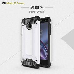 Phone Bags Cases For Motorola Moto Z Force Droid Edition Verizon Vector maxx 5.5 inch PC+TPU 2 in 1 Hybrid Robot Back Covers