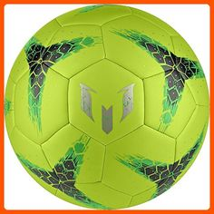 adidas Performance Messi Soccer Ball, Semi Solar Slime/Night Cargo Dust Metallic, 5 for sale Soccer Shop, Play Soccer, Soccer Ball, Soccer Boots, Soccer Cleats, Football Kits, Football Players, Toys For Little Kids, Performance Goals