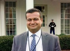 """Trump Appoints Indian American to Key White House Position Deputy Assistant to President Donald Trump Raj Shah poses outside the White House, in Washington, D.C., Feb. 13. Shah says India and Indian-Americans will have a strong relationship with the U.S. as he would be their """"best friend"""" in the White House. (Press Trust of India)    President-elect Donald Trump, Jan. 4, http://siliconeer.com/current/trump-appoints-indian-american-to-key-white-house-position/"""