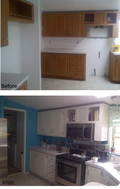 My kitchen, remodeled!