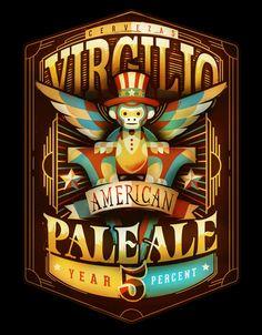 Virgilio American Pale Ale on Behance