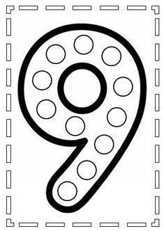 WEB: YAYOI KUSAMA : ARTISTA JAPONESA QUE PINTA LUNARES, SUS OBRAS CONECTAN FÁCILMENTECON LOS NIÑOS LA REINA DE LOS PUNTOS ... Numbers Preschool, Learning Numbers, Writing Numbers, Alphabet And Numbers, Preschool Worksheets, In Kindergarten, Learning Activities, Preschool Activities, Math Sheets