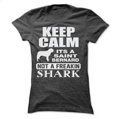 KEEP CALM IT IS A SAINT BERNARD - #lace shirt #tshirt girl. PURCHASE NOW => https://www.sunfrog.com/Pets/KEEP-CALM-IT-IS-A-SAINT-BERNARD-Ladies.html?68278