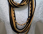 Recycled T Shirt Scarves