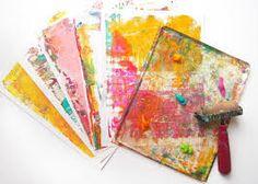 Afbeeldingsresultaat voor gelli plate art
