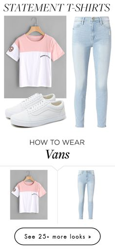 """Untitled #275"" by mynameisjanestyle on Polyvore featuring Frame and Vans"