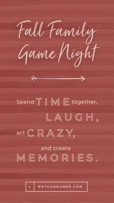 Family Fun Night, Fall Family, Family Life, Sibling Relationships, Fall Fest, Family Memories, Good Parenting, Holiday Activities, Family Games