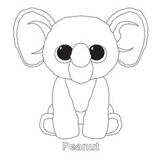 bunny beanie boo coloring pages - photo#5