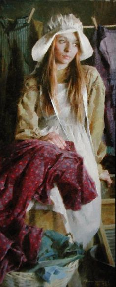 morgan weistling art | Morgan Weistling - A Prairie Girl