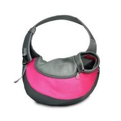Wacky Paws Wpc024-pk Pet Sling Carrier, Pink, Large