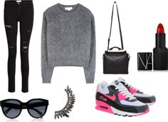outfit, Nike air max, sneakers www.whatsashawears.com
