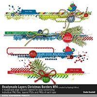 Readymade Layers: Christmas Borders No. 04