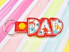 Dad Applique Snap Tab