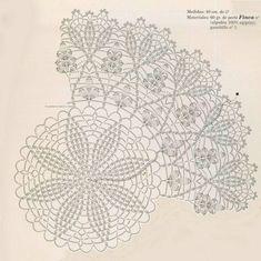 Photo From Album Free Crochet Doily Patterns, Crochet Doily Diagram, Crochet Flower Tutorial, Crochet Circles, Crochet Mandala, Crochet Round, Crochet Chart, Crochet Squares, Crochet Home