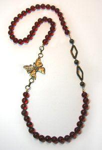 Art Deco Flapper Necklace