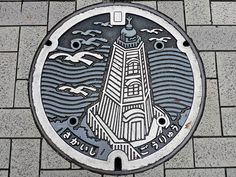 Japanese manhole covers by MRSY-16
