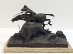 Western bronze sculpture 144/200, signed by Pete Millar. http://treasuredestates.com/showroom/product/176-western-bronze-sculpture-signed-by-pete-millar