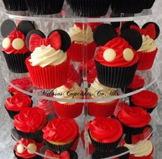 Minnie/ Mickey Mouse Novelty Cupcakes