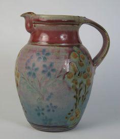 John Calver studio pottery jug