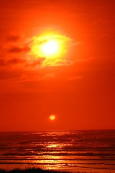 Double Sunset by fnarocks on Flickr