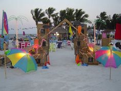 Una fiesta en la playa - A beach party
