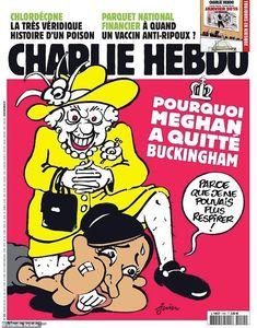 Wow! This is awful. Meghan Markle, Satirical Cartoons, Political Cartoons, Show Queen, Latest Cartoons, Charlie Hebdo, French Magazine, Cartoon Shows, Oprah Winfrey