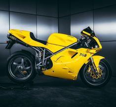 Old friend got new dress by KickassTuning Ducati OEM yellow fits perfectly for this beauty . Ducati 998, Moto Ducati, Ducati Cafe Racer, Cafe Racers, Ducati Sport Classic, Hot Bikes, Custom Bikes, Old Friends, New Dress
