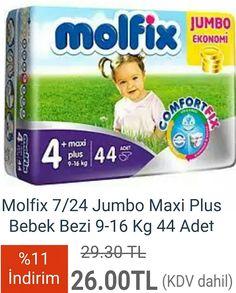 #Molfix #7/24 #Jumbo #Maxi #Plus #Bebek #Bezi 9-16 Kg 44 Adet  http://www.modahan.net/anne-bebek-oyuncak-bebek-arabalari-puset-anne-ve-emzirme-bebek-bakim-banyo-beslenme-guvenlik-urunleri-bebek-odasi-bebek-saglik-urunleri-besik-sepet-hamak-biberon-mamalari-bisikletler-evde-guvenlik-urunleri-mama-sandalyeleri-oto-koltugu-ana-kucagi-pp-k-22/molfix-7-24-jumbo-maxi-plus-bebek-bezi-9-16-kg-44-adet-u-119303.html  #taksitli #bebekbezi