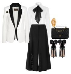 Untitled #3150 by stylebydnicole on Polyvore featuring polyvore Polo Ralph Lauren Roberto Cavalli STELLA McCARTNEY Chanel Movado